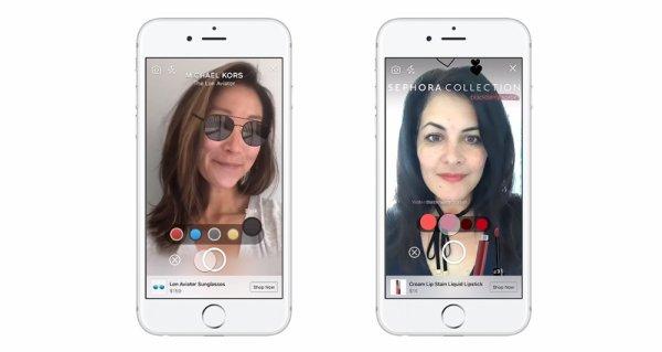 Facebook s'essaye au shopping en réalité augmentée