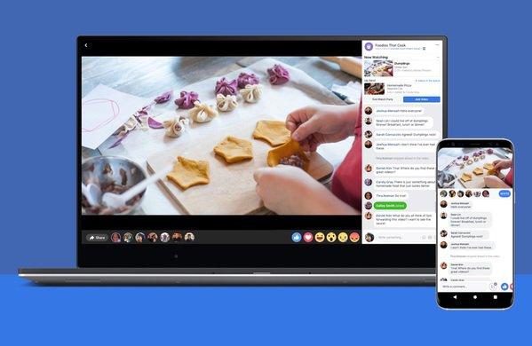 Facebook lance Watch Party, pour commenter des vidéos en live (comme sur Youtube)
