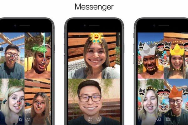 Facebook Messenger introduit des jeux en réalité augmentée dans les appels vidéo