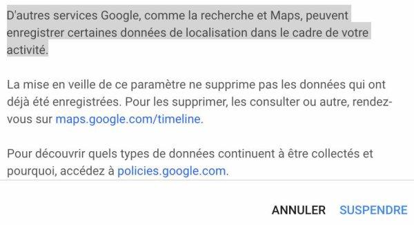 Google : comment désactiver les données de géolocalisation sur son smartphone ?