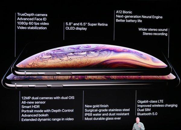 Apple dévoile un nouveau modèle très haut de gamme: l'iPhone Xs