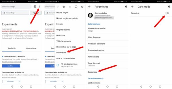 3 fonctions cachées du navigateur Chrome sur Android