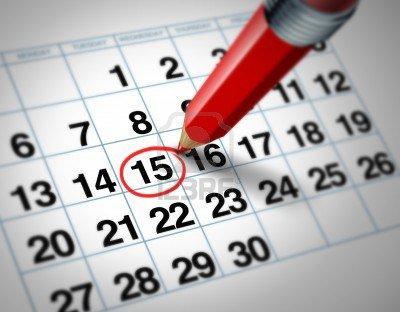 Des dates les + importante !