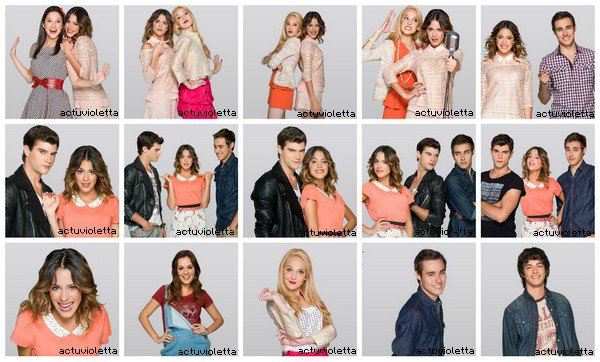 "23 octobre : Photos personnelles des acteurs + Photos du spectacle ""Violetta En Vivo"" + Photoshoot des filles + Info tournée France."