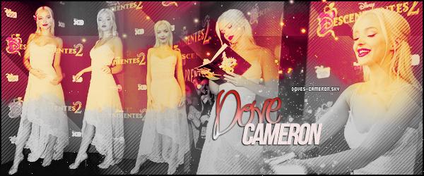 ●● Bienvenue sur Doves-Cameron, ta source d'actualité sur la belle Dove Cameron. A travers différents candids, events, photoshoots, interviews, découvrez toute l'actualité de la belle artiste.