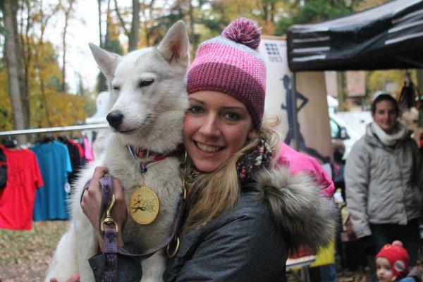 Championne de France de cani vtt nordique 2013