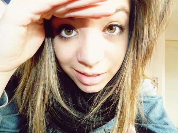 Je veux vivre chaque seconde comme si demain était la fin du monde.`