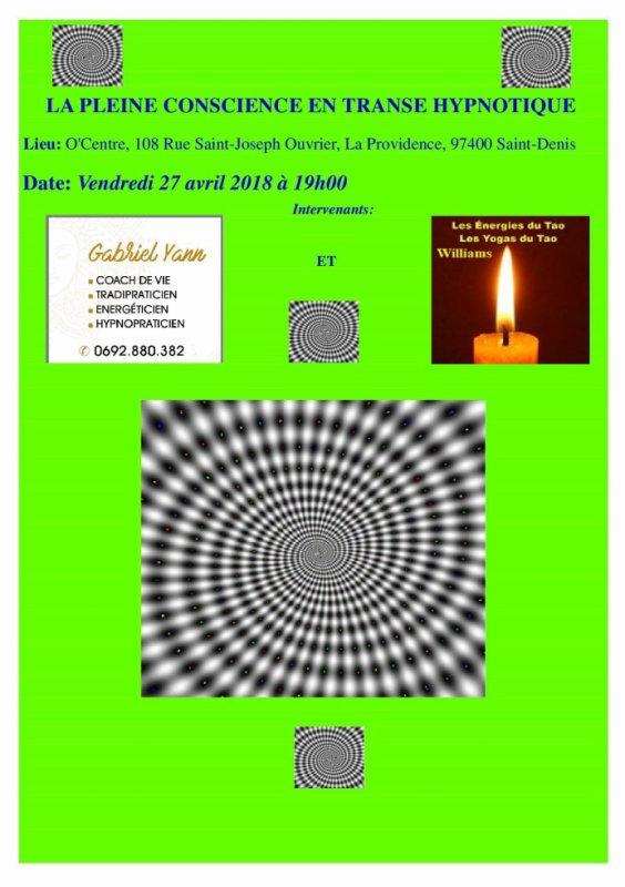 Conférence Atelier Pleine Conscience Transe Hypnotique