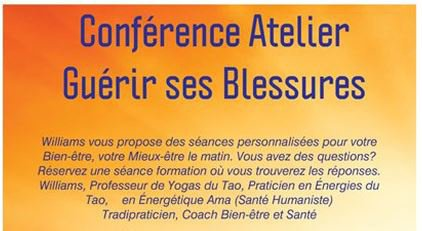 Conférence Atelier Guérir ses Blessures