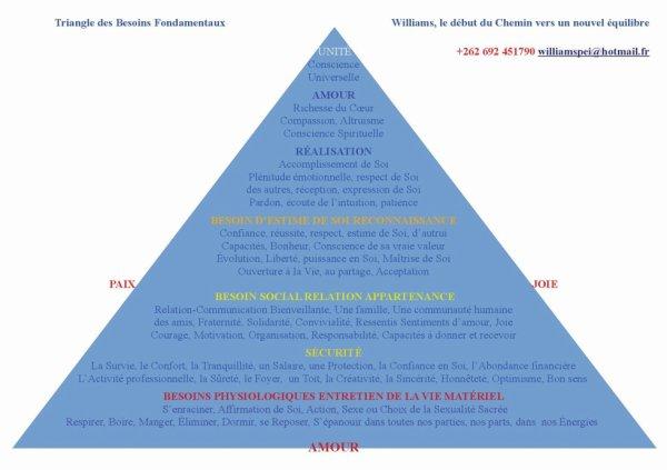 Triangle des besoins