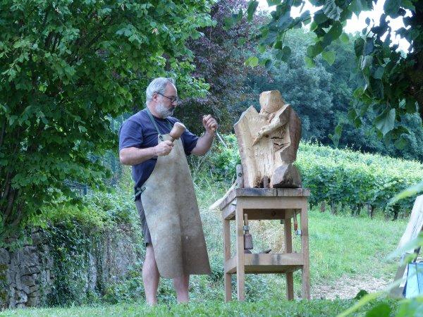 sculpture en public