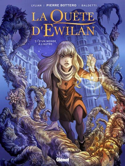 La quête d'Ewilan - B.D