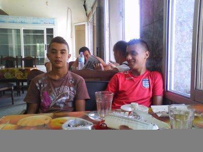moi et faycel khouya machi sahbi