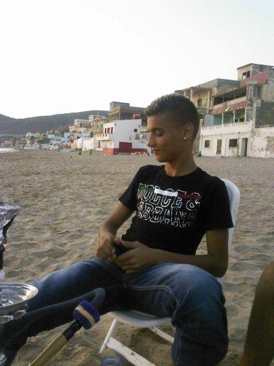 c'est moi a la playa jayab sbah