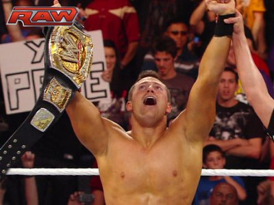 The Miz novo WWE Champion!!!