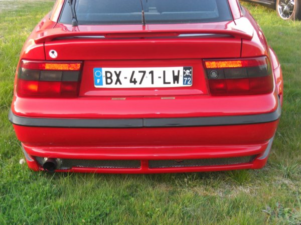Modification sur l'Opel Calibra du vice president