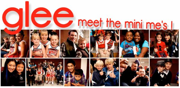 Les minis Glee !