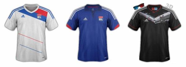Maillots saison 2012/2013
