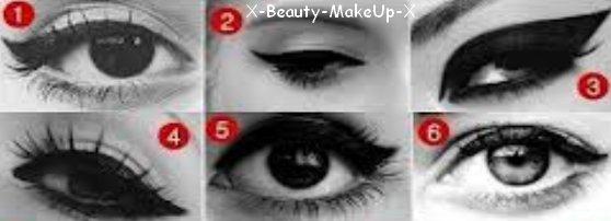 L'eye liner, notre amis à toutes ;)