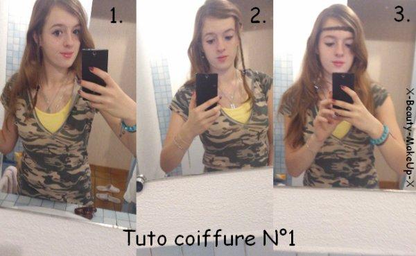 Tuto coiffure N°1