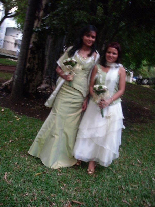 Moi, le Samedi 04 décembre 2010: Demoiselle d'Honneur au Mariage de mon tonton et ma tatie!