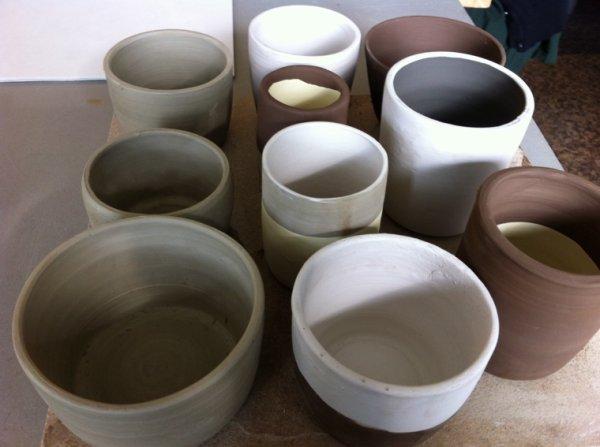 Pièces en céramique