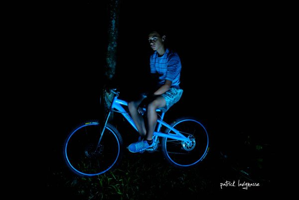 Le vélo est un jeu d'enfant qui dure longtemps.