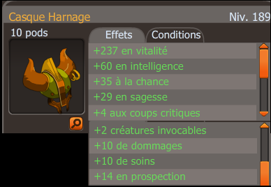Casque Harnage