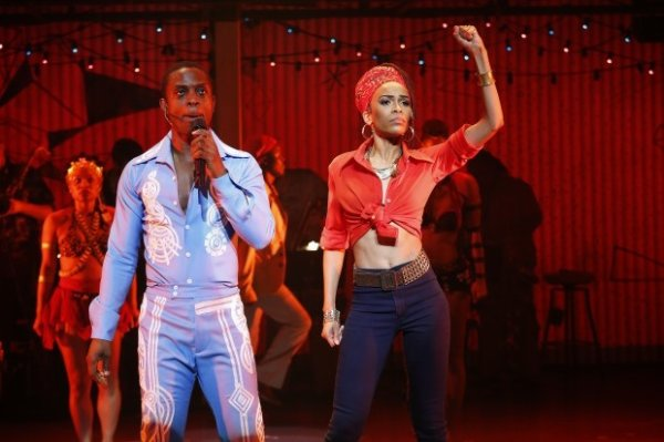 Michelle williams dans la tourner de Fela a Broadway