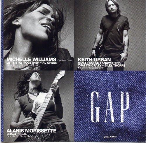 Michelle Williams a poser pour la marque de jeans GAP