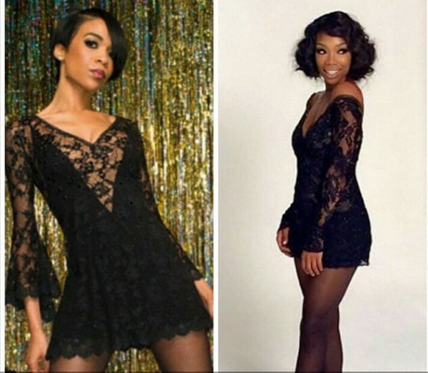 Michelle williams et brandy :on tous les 2 jouer Chicago