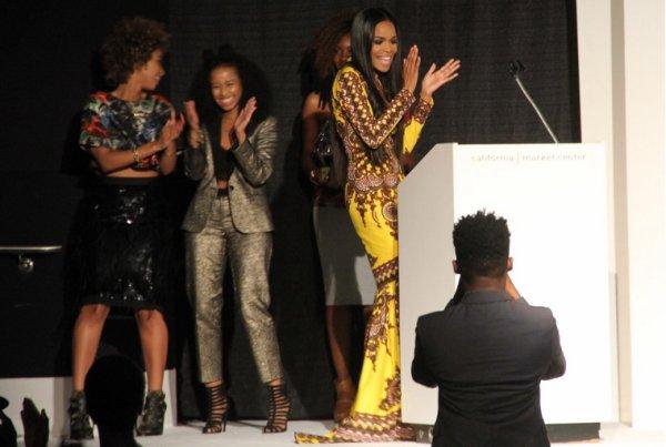 Michelle Williams a la soirer style Africa : que Penser vous de ca robe!