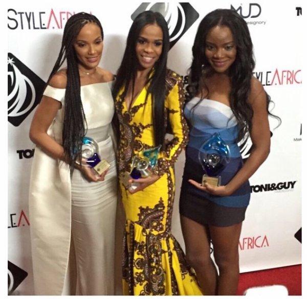 Michelle Williams: gagne pas mal de prix en ce moment best gospel pour ASCAP et icon music Africa