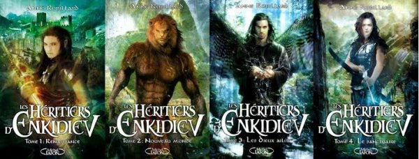 Les Héritiers d'Enkidiev d'Anne Robillard