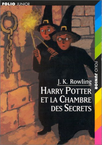 Harry Potter et la chambre des Secrets Tome 2 de J.K Rowling