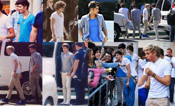 Les garçons ont été vu à Los Angeles.