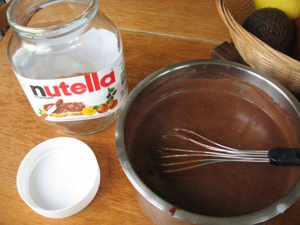 Nutella allégé grâce à l'agar-agar