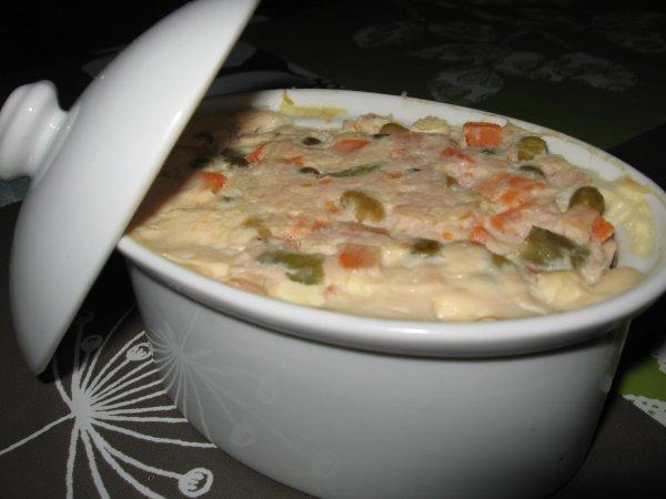 terrine de légumes au jambon