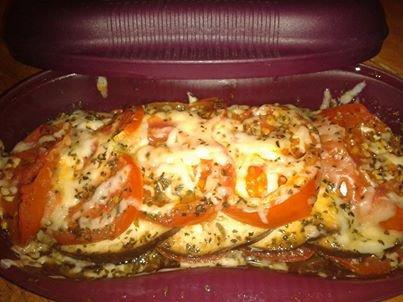 Légumes Gratinés dans le cuiseur solo tupperware