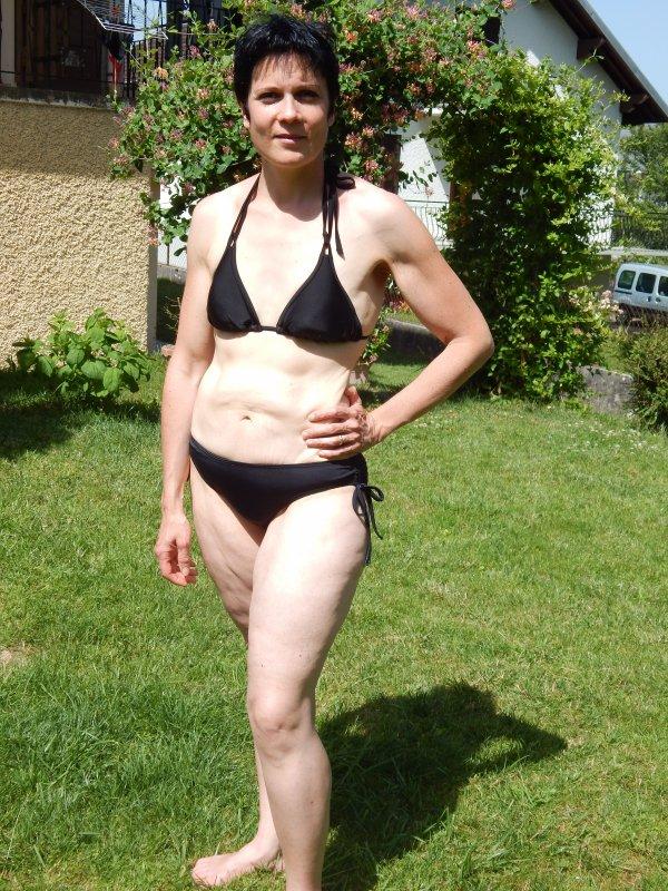 en mode maillot de bain
