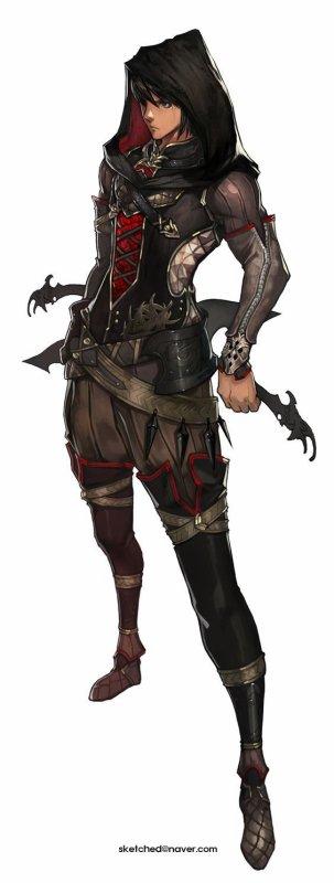 Inuma Gwad , l'assassin , la main de l'ombre