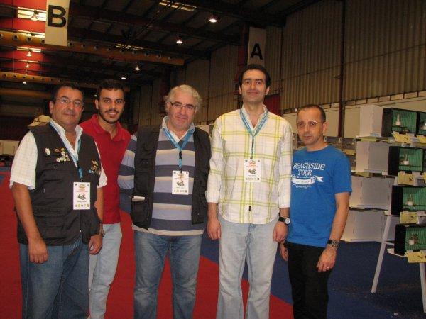 Na EXPONOR de Matosinhos numa visita ao Campeonato Internacional de Ornitologia do Atlântico 2014