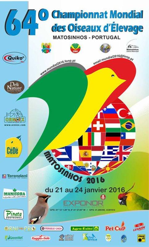 64 championnat mondiale des oiseaux d elevage - Portugal