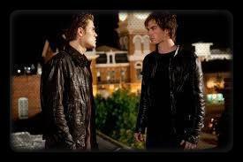 Damon et Stefan, Vampire Diaries.
