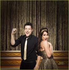 Rachel et Finn, Glee.