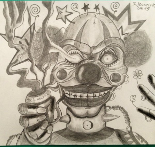 Dessin Clown Toxico Blog De Mirkot51