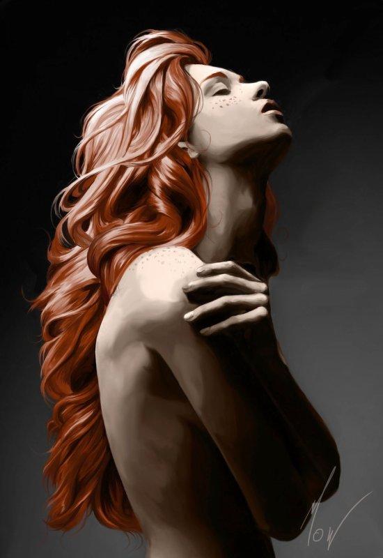 Une fois dans sa vie, un homme est autorisé à tomber follement amoureux d'une magnifique rousse