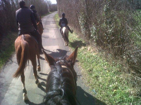 journée a cheval avec mes enfants
