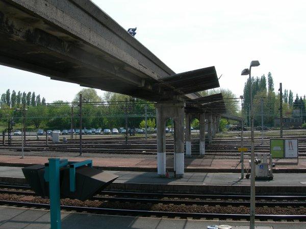 Gare de Béthune - sa passerelle- 5