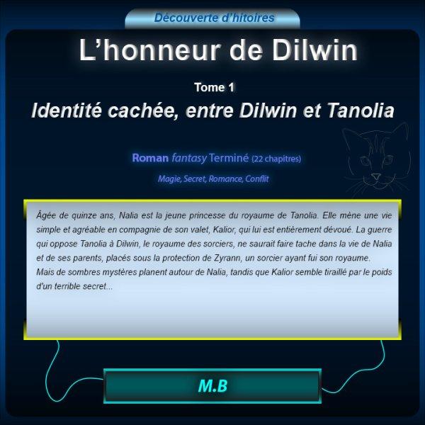 Découverte du Roman : L'honneur de Dilwin